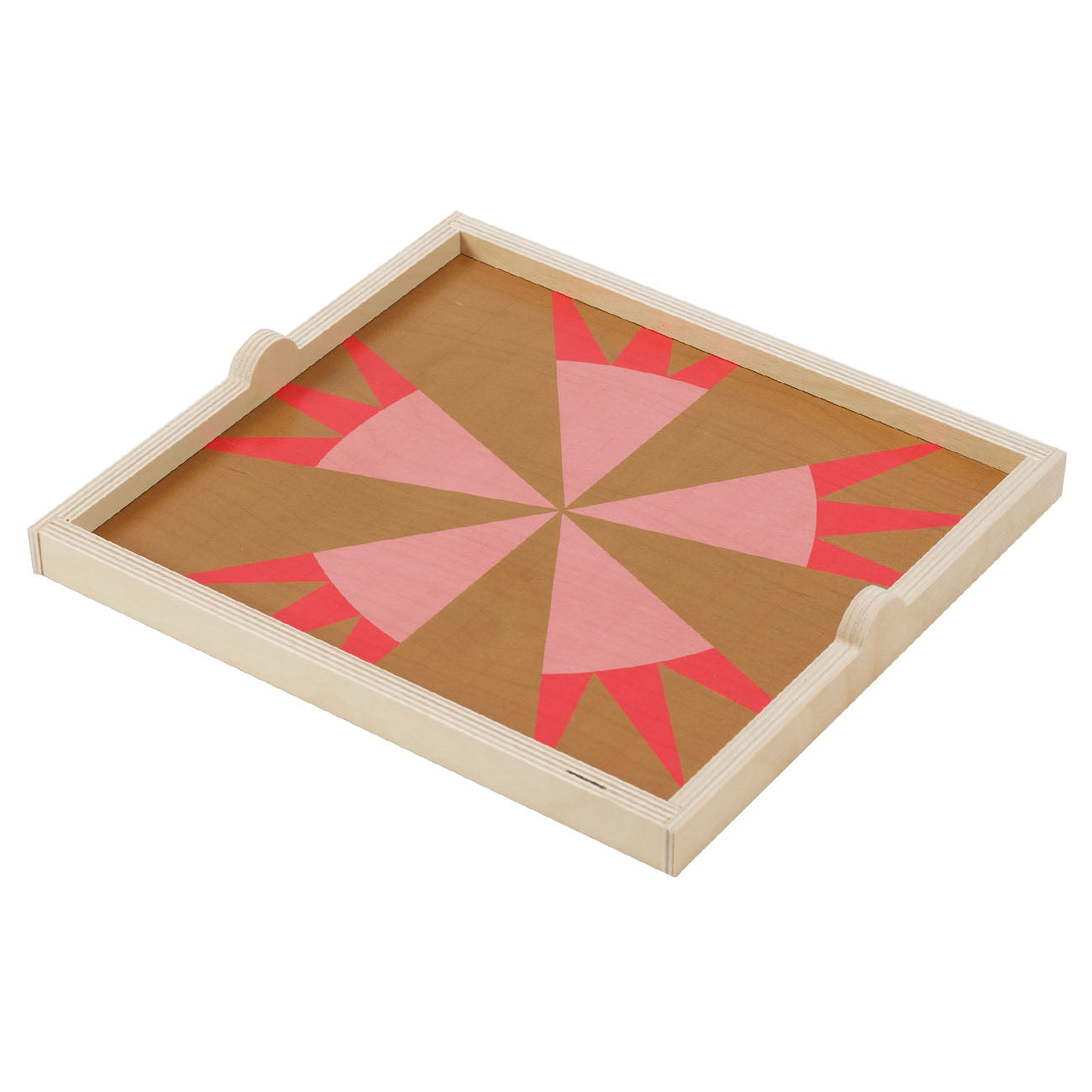 star olive square tray
