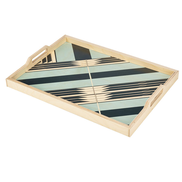 sybil seafoam serving tray
