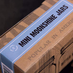 Set of Mini Moonshine Jars (4x50ml)