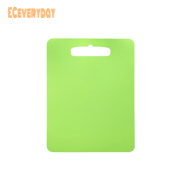 ECeveryday Portable Moisture-proof Picnic Fruit Salad Cutting Board (Green Rectangular)
