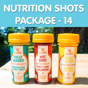 NUTRITION SHOTS PACKAGE - 14