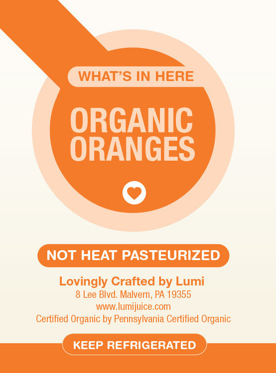 WAHOO ORANGE: 6 PACK (10 oz.) - Lumi Organics