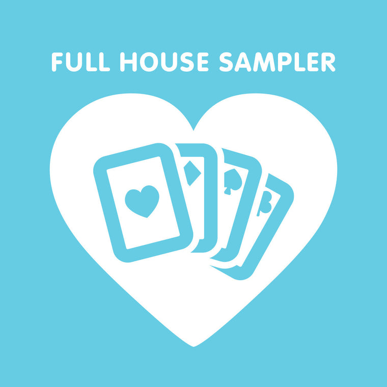 FULL HOUSE - SAMPLER - Lumi Organics