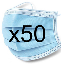 Load image into Gallery viewer, 50ct Box - Surgical Masks - FDA registered & Nelson lab tested - FREE SHIPPING!