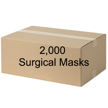 Load image into Gallery viewer, Surgical masks - 2,000ct carton - FDA registered & Nelson lab tested