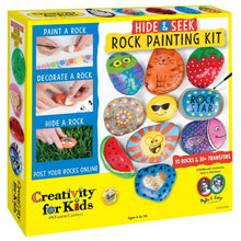 Load image into Gallery viewer, Hide and Seek Rock Painting Kit