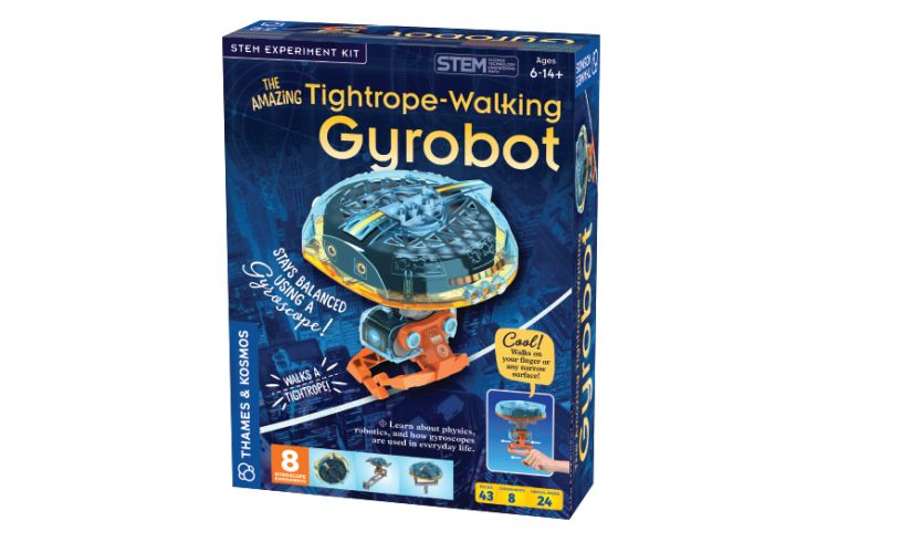 Tightrope Walking Gyrobot