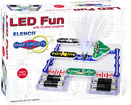 Snap Circuits LED fun kit