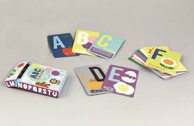 ABC card game flashcards