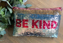 Load image into Gallery viewer, Be Kind Sequin Pillow