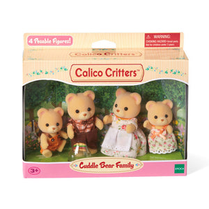 Calico Critter Cuddle Bear family