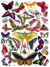 Load image into Gallery viewer, Butterflies~Papillons 1000 pc Puzzle