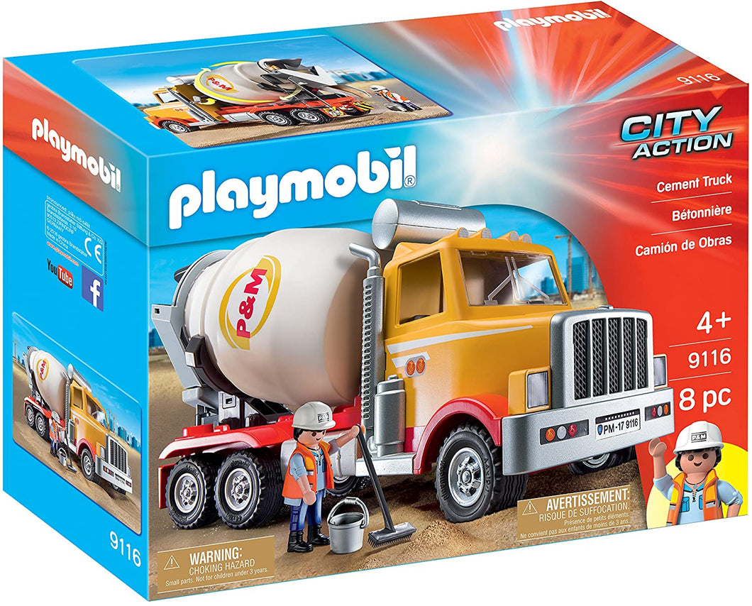 Playmobile Cement Truck