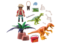 Load image into Gallery viewer, PlayMobil Dino Explorer Carry Case