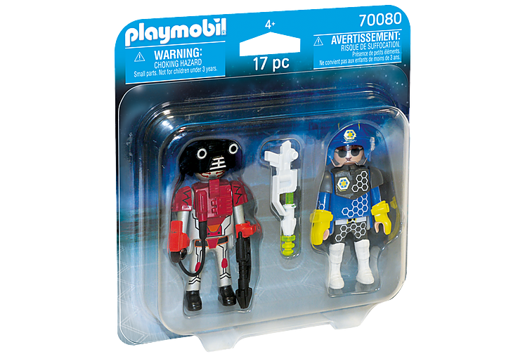 PlayMobil Space Police And Thief