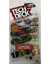 Load image into Gallery viewer, Tech Deck Ultra DLX 4 Pack