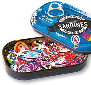 Tin of Sardines page marker