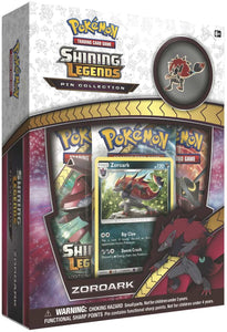 Shining Legends Zoroark Collectible Pin- Pokemon Trading Card Game