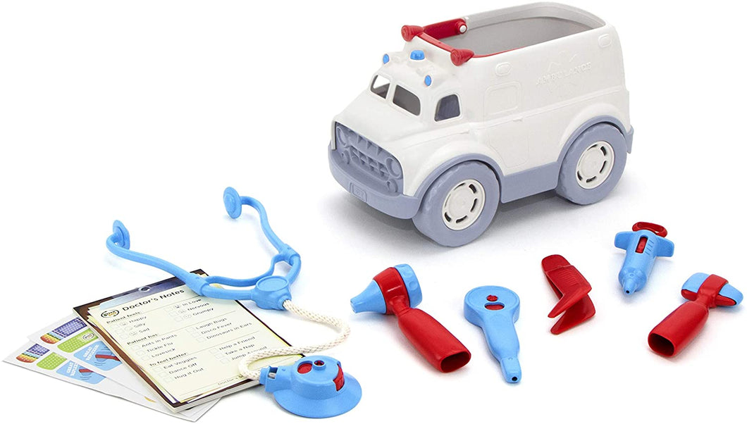 GreenToys Ambulance & Doctor Kit