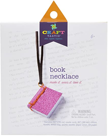Craft-Tastic Book Necklace