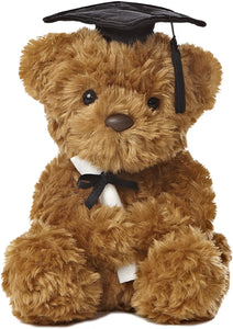 Wagner Graduation Plush Bear