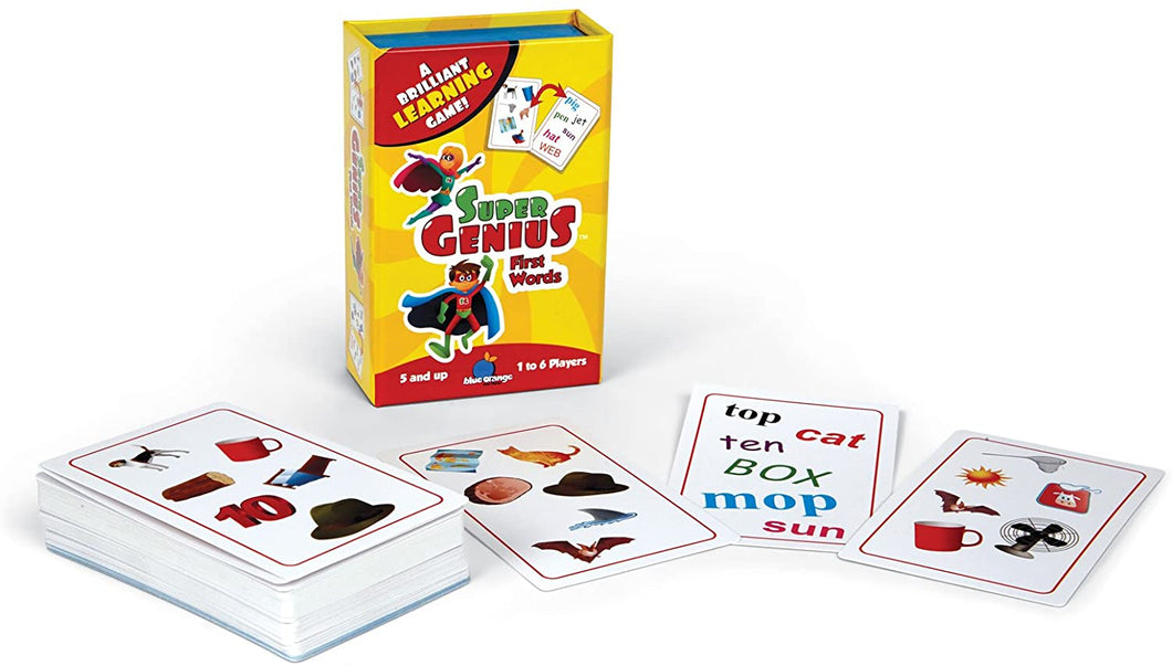 Super Genius First Words Learning Game