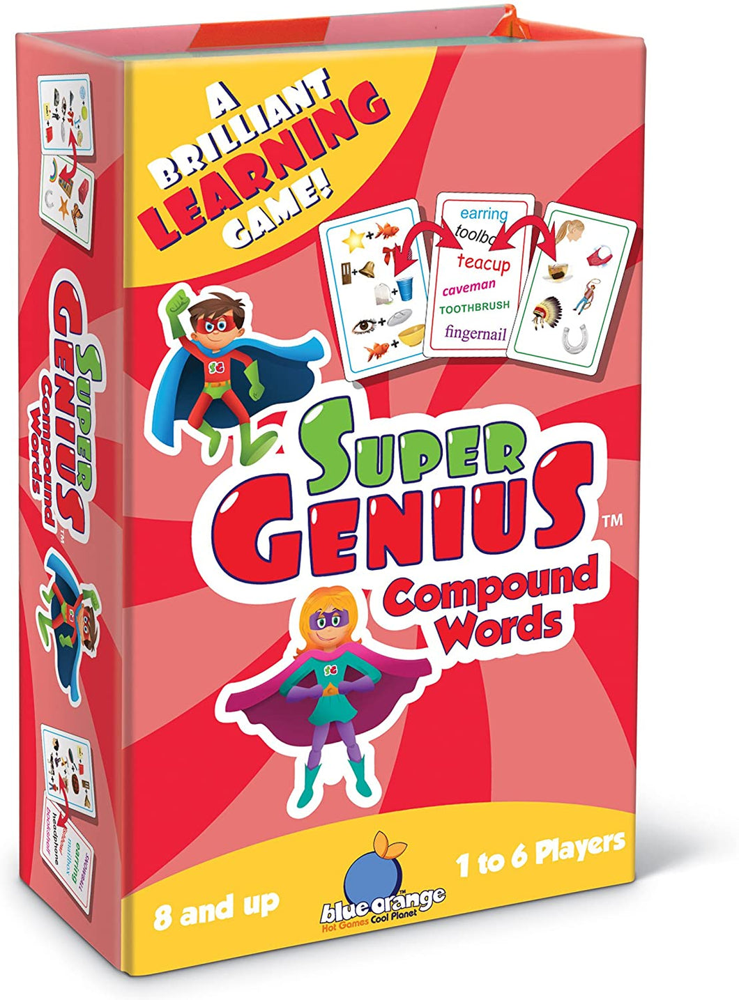 Super Genius Compound Word Learning Game
