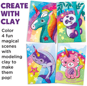 Color with Clay - unicorn sold out