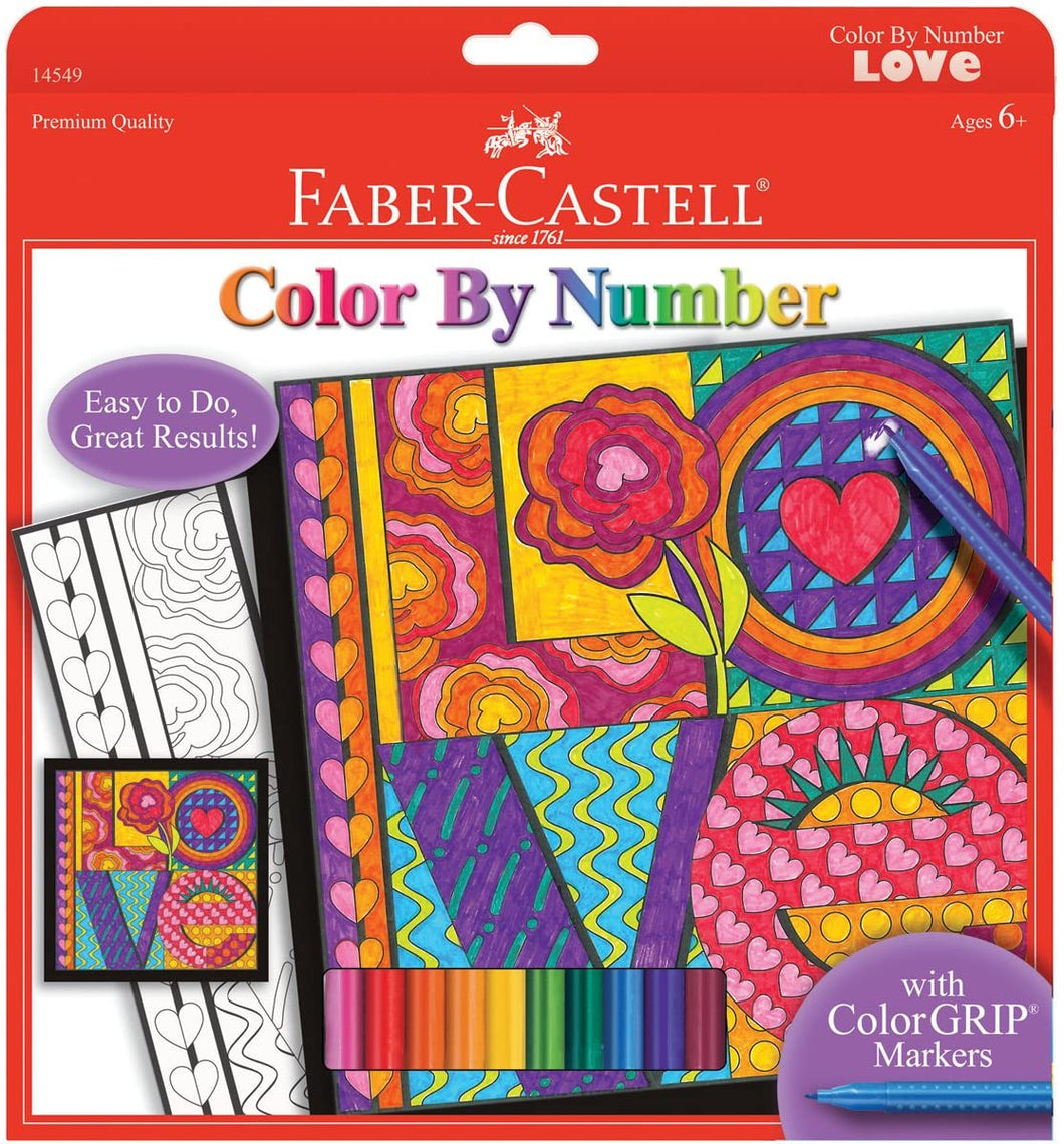 Color by Number - LOVE