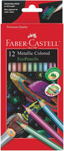 Load image into Gallery viewer, Metallic Pencils 12ct