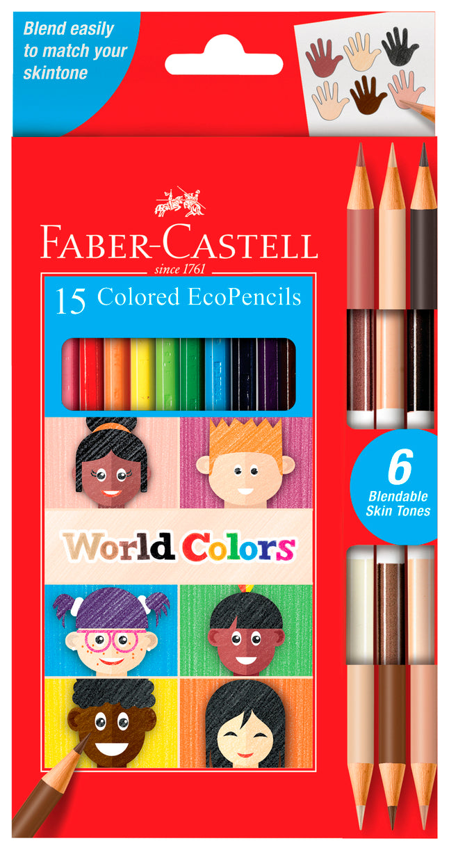 World Colors Ecopencil 15 Count