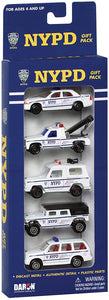 NYPD Vehicle Gift Set 5 piece
