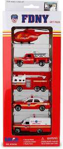 FDNY Vehicle Gift Set 5 Piece