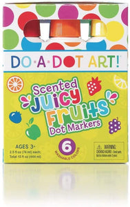 Scented Juicy Fruit Markers Dots