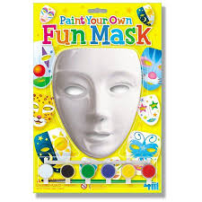 Paint Your Own Fun Mask