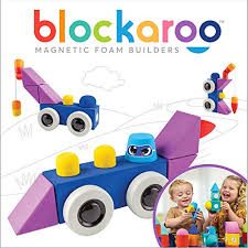 Blockaroo medium Roadster  jumbo block set
