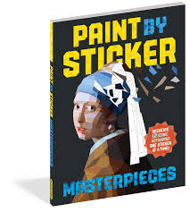 Paint by Sticker books - assorted