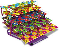 Multi level snakes & ladders game