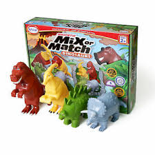 Mix or Match Dinosaurs - 2 different sets available