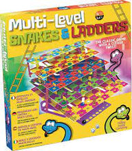 Load image into Gallery viewer, Multi level snakes & ladders game