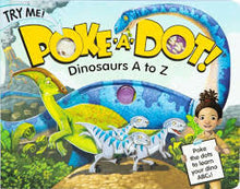 Load image into Gallery viewer, Poke a Dot Dino A to Z Book