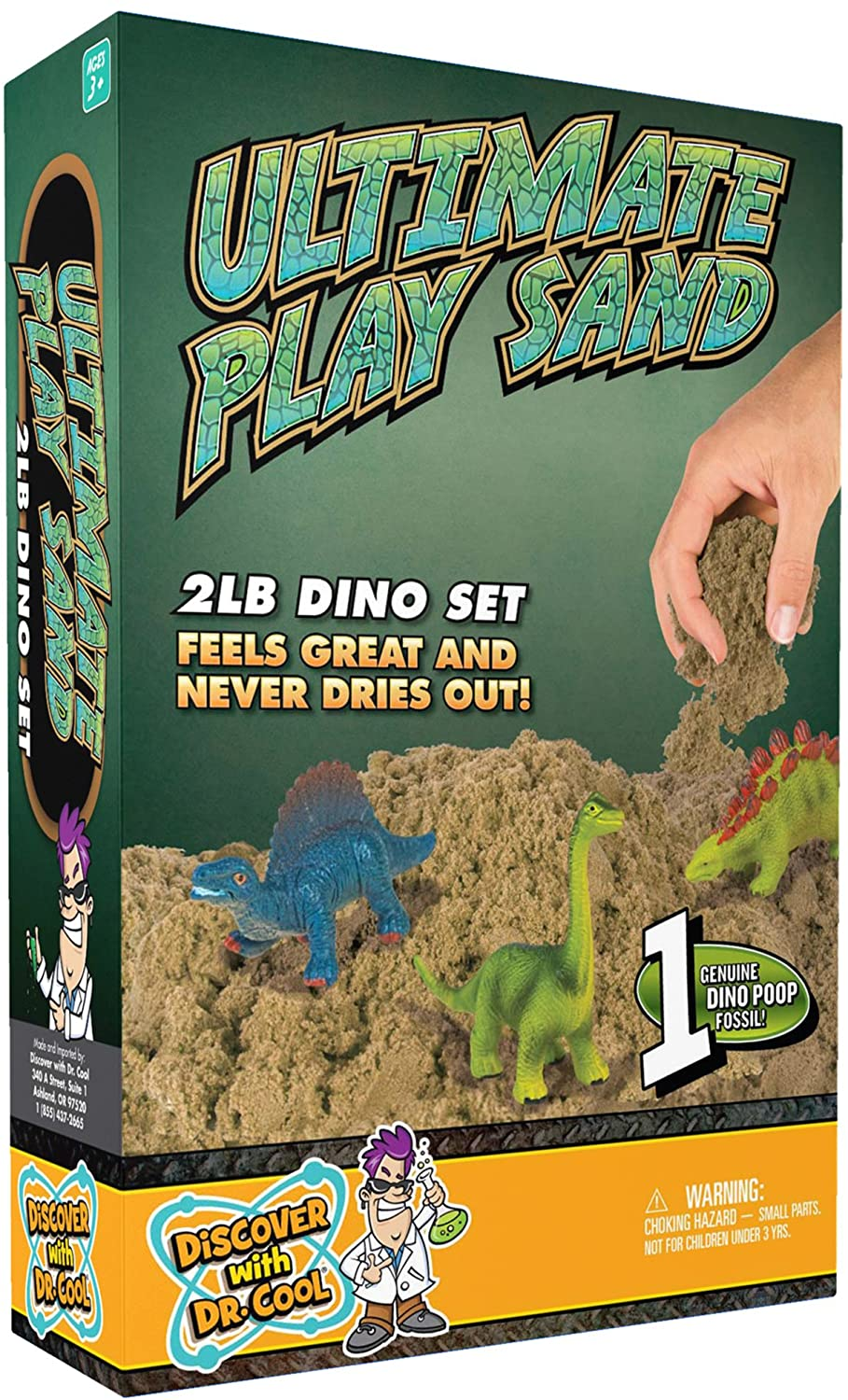 Play Sand with Dinos