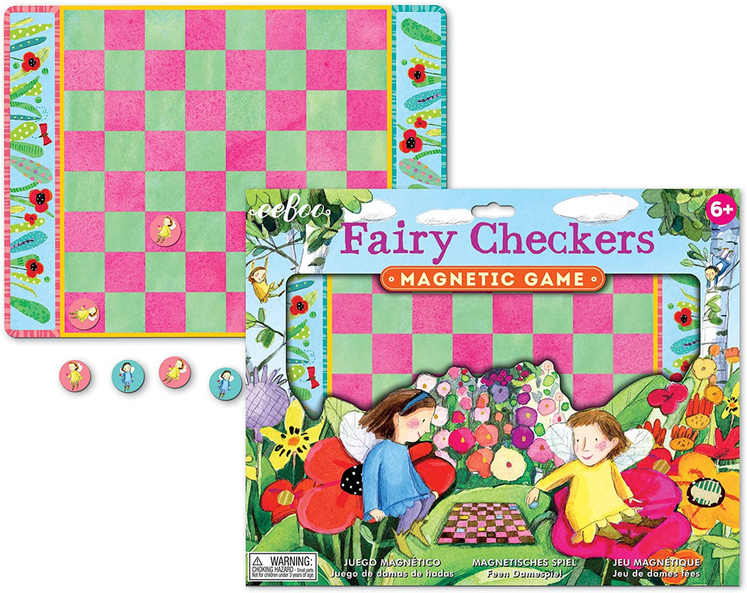 Fairies Checkers Magnetic