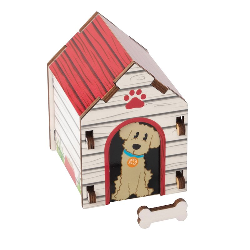 Blue Print Puzzle - Dog House