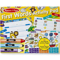First Words Activity Pad - Melissa & Doug