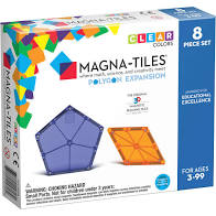Magna Tiles Polygons 8pc  expansion set