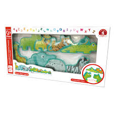 Amazing Alphabet and Animal parade wood puzzle