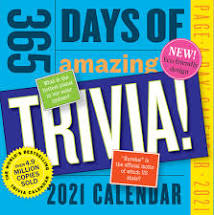 2021 365 Page a Day Calendar - assorted titles