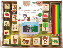 Load image into Gallery viewer, Woodland Animal Stamp Set
