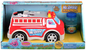 Mr. Bubble Fire Truck